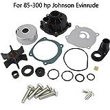 Neeknn Water Pump Impeller Kit Johnson Evinrude (85-300 HP) 18-3392 434421 5001594