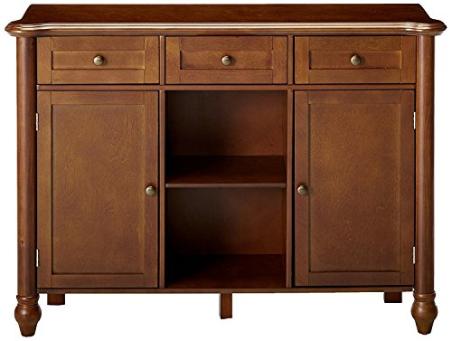 Kings Brand Furniture Wood Sideboard Buffet Cabinet