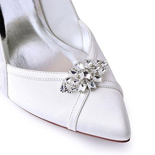 bbe7497c79cb9 ElegantPark Fashion Decorative Rhinestones Shoes Clutch Dress Hat Shoe  Clips 2 Pcs
