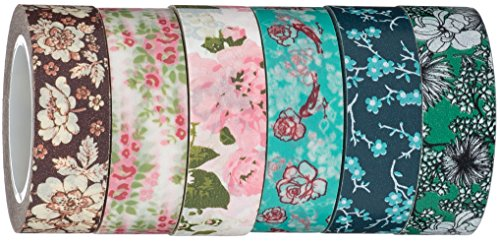 Washi Tape | Evermae Design Co. -- Vintage Florals Premium Japanese Washi Tape