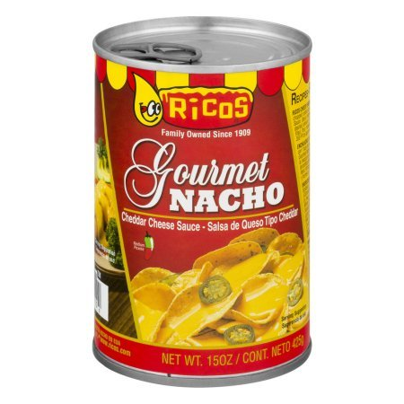 Amazon.com: PACK OF 12 - Ricos Gourmet Nacho Cheddar Cheese Sauce, 15.0 OZ
