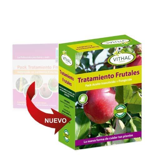 Pack tratamiento frutales (fungicida+aceite+insecticida): Amazon.es: Hogar