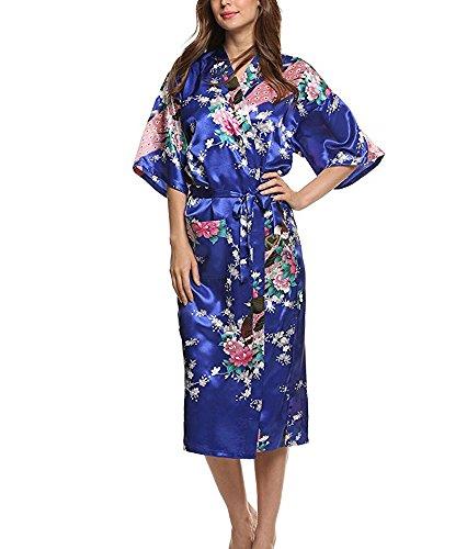 JIURUN - Bata - para mujer azul oscuro