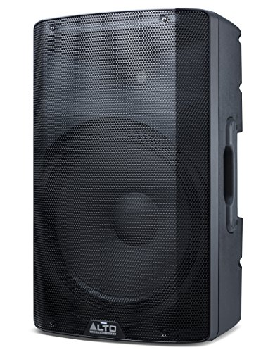 Alto Professional TX215 - 600-Watt 15-Inch 2-Way Powered Loudspeakers With Active Crossover, Performance-Driven Connectivity and Integrated Analogue Limiter ()