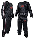 4Fit Heavy Duty Sweat Suit Sauna Exercise Gym Suit Fitness Weight Loss Anti-Rip S-6XL