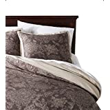 Threshold Floral Toile Duvet Cover Set Brown and Cream King