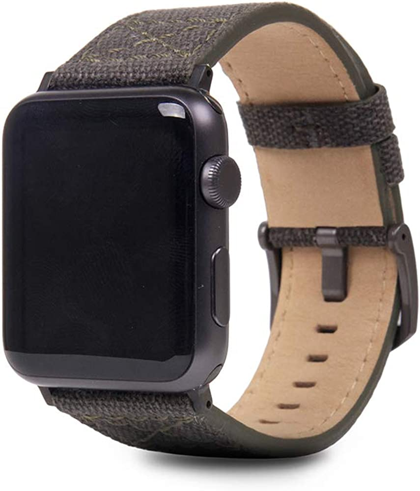 SLG D+ Wax Canvas Strap for Apple Watch