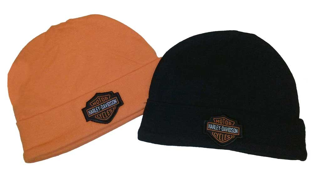 Harley-Davidson Baby Boy Infant Hat - Gift Set