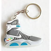 Nike Air Mag Keychain Back to the Future Glows In Dark McFly Self Lacing Sneaker