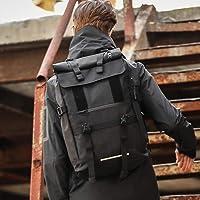 男士多功能休闲户外双肩包 通勤休闲户外旅行多功能双肩包登山背包时尚防水旅游背包