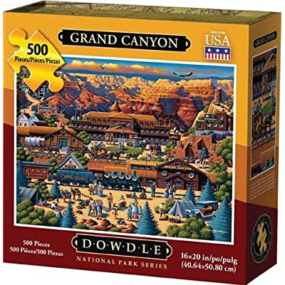 Dowdle Jigsaw Puzzle - Grand Canyon - 500 Piece: Toys & Games
