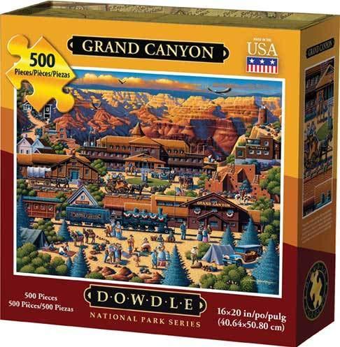 (Dowdle Jigsaw Puzzle - Grand Canyon - 500 Piece)