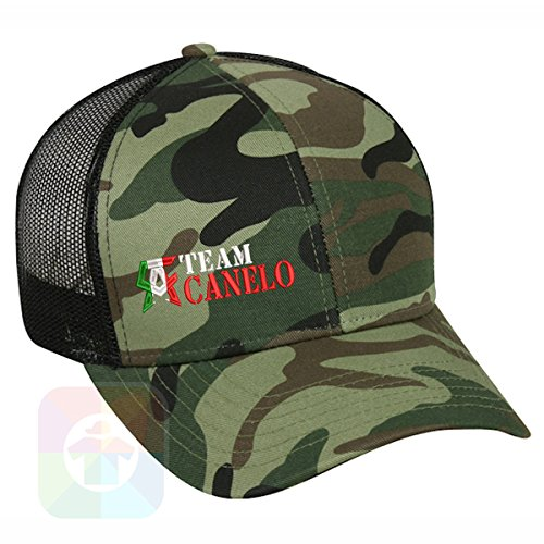 Custom Tshirts and Hats Boxing Canelo Structured Snapback Baseball Mesh Hat Cap #2244 - Embroidered Cap T-shirt