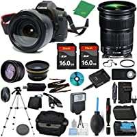 Canon EOS 5D Mark III Camera + 24-105mm STM + 2pcs ZeeTech 16GB Memory + Case + Reader + Tripod + Starter Set + Wide Angle + Telephoto + Flash + Battery + Charger - International Version