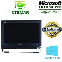 "LENOVO ThinkCentre M72z 3554 All-in-One: i5 2.93 Ghz / 4 Gb DDR3 / 250 Gb / WIFI / Webcam / DVDRW / 20"" / Windows 10 Professional"