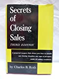 img - for Secrets Of Closing Sales: 3rd Edition book / textbook / text book