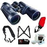 Bushnell 157050 H2O 7x 50mm Waterproof Binocular w/Accessory Bundle