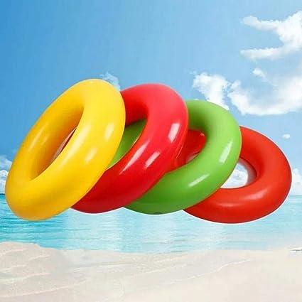 LIYUDE Anillo de natación Inflable _ Playa Transparente Amor ...