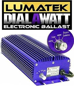 Dimmer Balastro electr/ónico Lumatek 1000/W