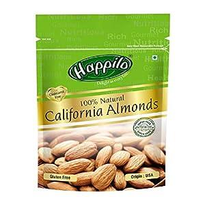 Happilo 100% Natural Premium Californian Almonds, 200g 10 51auDshLBEL. SS300