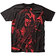 KISS Gene Simmons big print subway tee