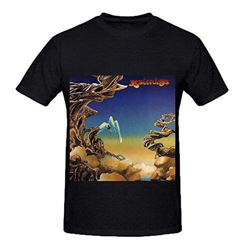 yes-yesterdays-tour-funk-men-crew-neck-casual-shirt-black