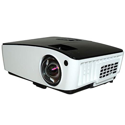 ZZG Conferencia Comercial HD 1080P De Proyectores De Corto Alcance ...