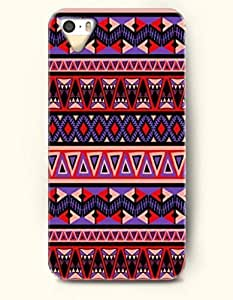 SevenArc Aztec Indian Chevron Zigzag Native American Pattern Hard Case for Apple iPhone 5 5S ( iPhone 5C Excluded... by lolosakes