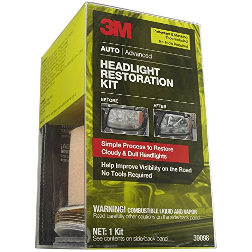 3m headlight restoration kit 39008 instructions