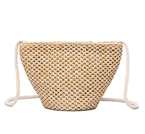 Mini Bag Shoulder Straw Small New Bag Beige Straw Bag Summer Handbag gx4awqXB