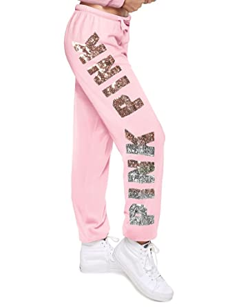 06c1110c70b31 Vs pink Victoria's Secret Pink New Bling Classic Pant Pant Color Pink Small  NWT