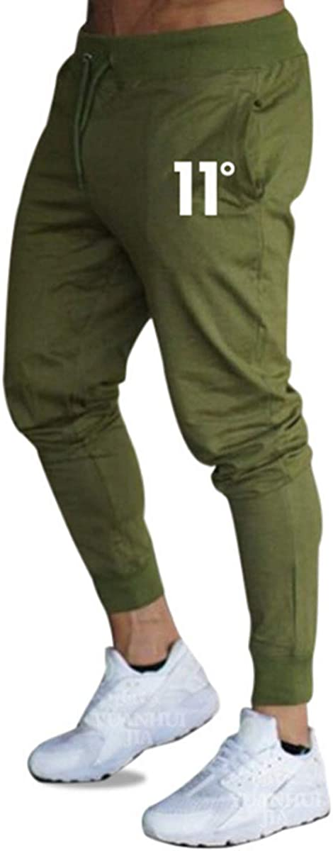 Frecoccialo Pantalones de Deporte para Hombre Chándal Ajustados Multicolores Cintura Elástica Ajustable Pantalon de Hombre Pitillo Deportivo con Bolsillos