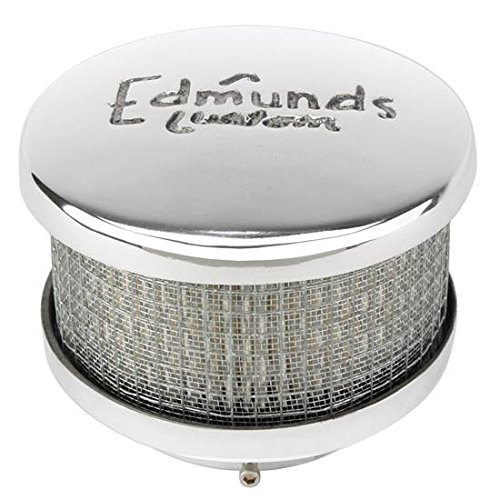 Edmunds Custom Air Cleaner, Short, 2-5/8 Inch Neck