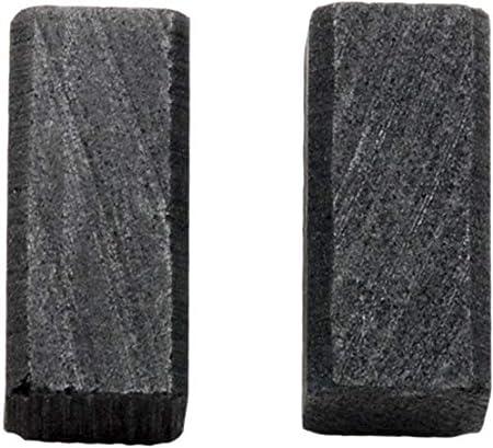 Escobillas de carbón Buildalot Specialty ca-00-41803 para Black & Decker Amoladora BD11-6,3x6,3x13,5 mm - Reemplaza partes 930760-00 & 930760-00
