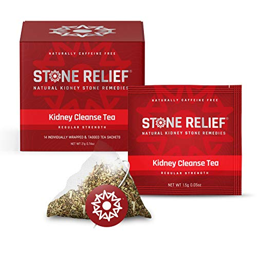 Chanca Piedra Kidney Cleanse Herbal Tea (Regular Strength) [Stone Breaker + Dandelion Root + Real Lemon] Kidney Support - Kidney Stone Dissolver - Kidney Supplement - Kidney Stone Prevention (Best Herbal Tea For Kidneys)