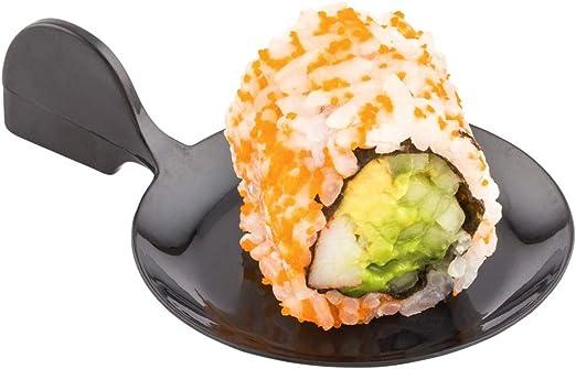 Fish Appetizer Plate Restaurantware RWP0142W 100ct Box Plastic Disposable Dessert Plate White Fish Shaped Tasting Plate