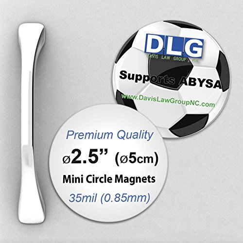 Premium 35mil Thick Mini Circle Magnets