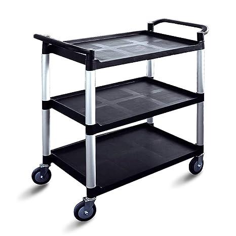 Amazon.com: Carrito de cocina de 3 pisos para servir y ...