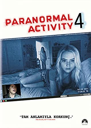 Paranormal activity 4 bluray review | showbiz.