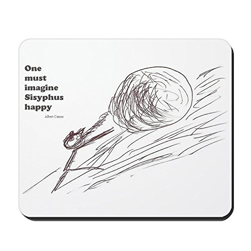 CafePress - Sisyphus Mousepad - Non-slip Rubber Mousepad, Gaming Mouse Pad