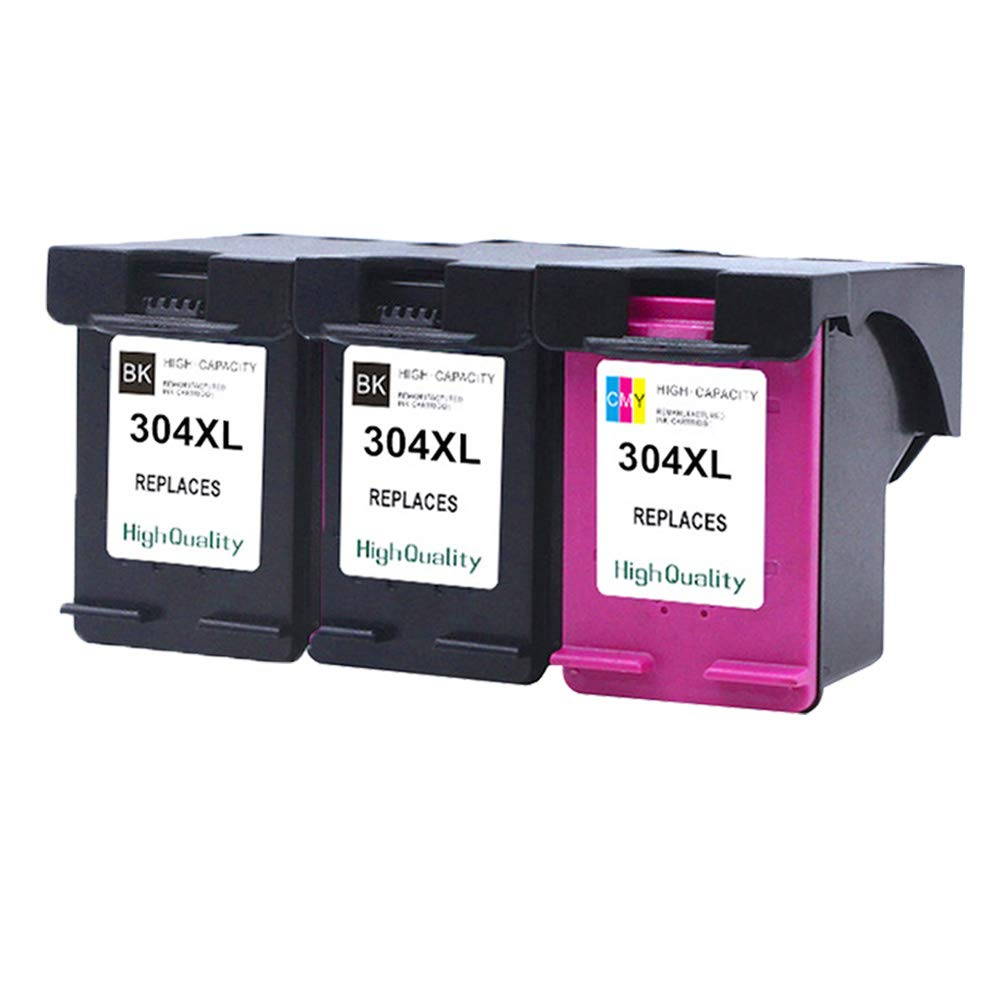 Teng® - 3 Cartuchos de Impresora HP 304 304XL para HP ...