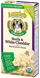 product image for Annie's Homegrown Organic Shells & White Cheddar 6 oz (170 g)