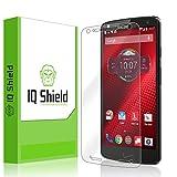 IQ Shield LiQuidSkin Full Coverage Screen Protector for Motorola Droid Turbo 2 HD Clear Anti-Bubble Film