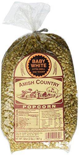 popcorn amish white - 1