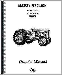 the massey ferguson 35 tractor workshop service manual chris rh amazon com Massey Ferguson 35 Operators Manual 35 Massey Ferguson Service Manual