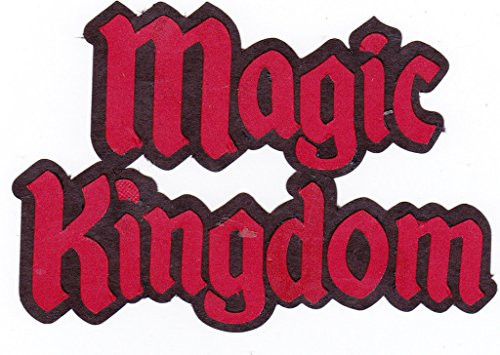 Disney World Magic Kingdom Paper Piecing - Magic Disneyworld Kingdom