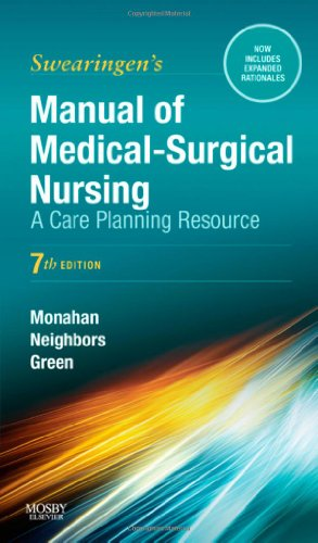Manual of Medical-Surgical Nursing: A Care Planning Resource, 7e (Manual of Medical Surgical Nursing Care) by Brand: Mosby