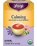 Yogi Tea, Calming, 16 Count (Pack of 6), Packaging May Vary