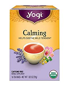 Yogi Tea, Calming, 16 Count, Packaging May Vary