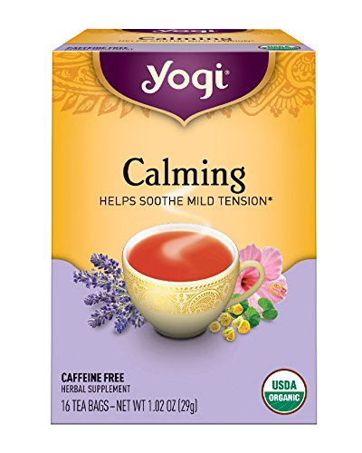 Yogi Tea, Calming, 16 Count (Pack of 6), Packaging May Vary - Yogi Caffeine Free Tea
